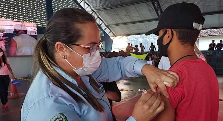 Vacinação Covid Sapé