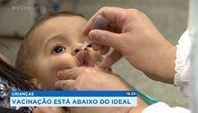 SP faz campanha por vacinação de adolescentes e crianças