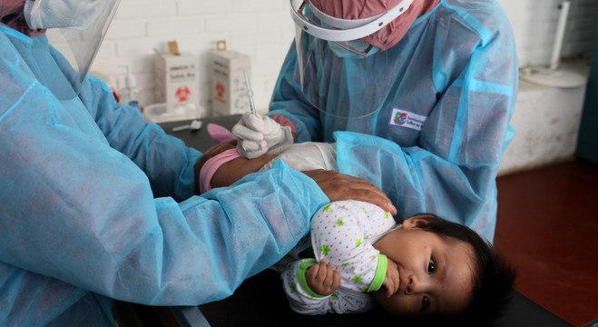 Campanha de vacinação é direcionada a crianças de até 5 anos