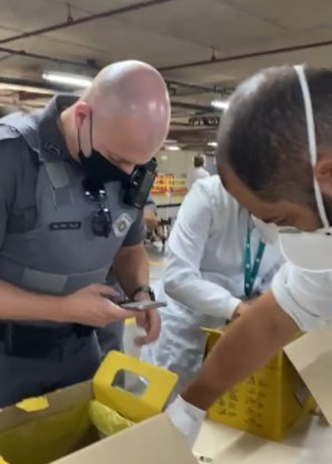 PMs são acionados após denúncia de vacinação falsa do Clube Paulistano