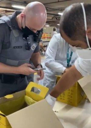 PMs são acionados após denúncia de vacinação falsa no Paulistano