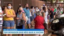 Serrana (SP) registra aglomerações após fim da vacinação em massa