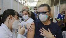 No ritmo atual, vacinação no Brasil levaria 1 ano para terminar