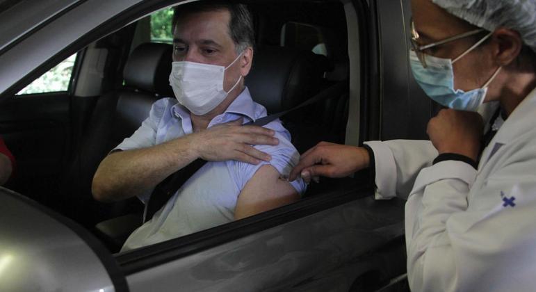 Capital paulista antecipou em um dia vacinação dos dois grupos