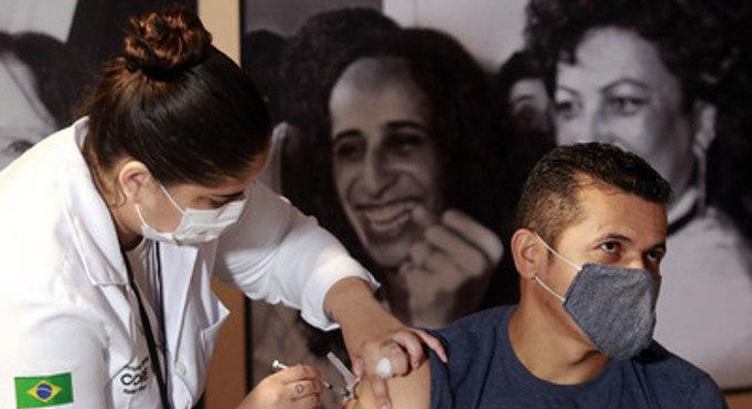 Segundo a prefeitura, Rio é a 6ª capital do mundo que mais vacina contra covid-19