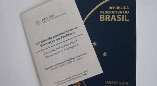 Certificado Internacional de Vacinação é necessário para viajar