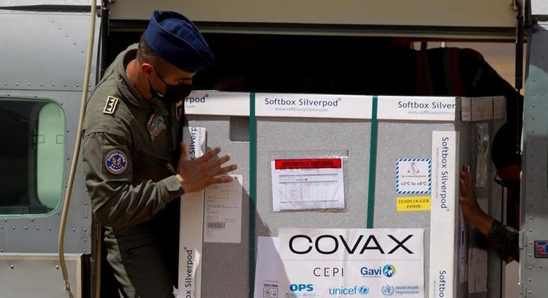 Vacinas seriam distribuídas pelo mecanismo internacional Covax