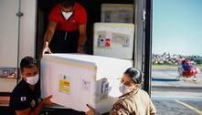 Avião com 315 mil doses de vacina desembarca em BH neste domingo