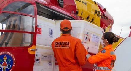 Governo de Minas continuou a distribuição da 22ª remessa