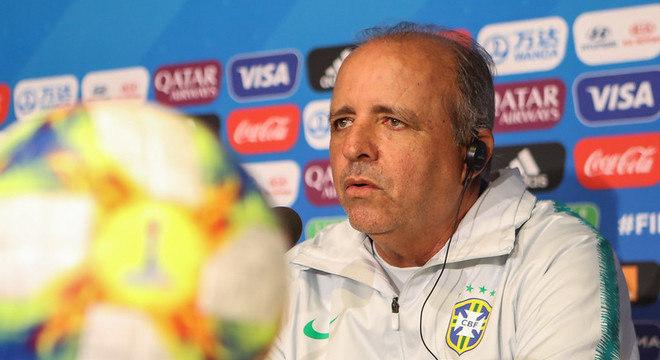 Vadão comandou a seleção brasileira feminina na Copa do Mundo 2019