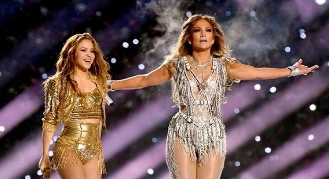 Veja a apresentação de Shakira e Jennifer Lopez no Show do Intervalo do Super Bowl!