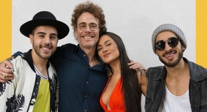 Nando Reis e Melim lançam uma nova versão do hit