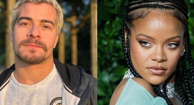 Thiago Martins conta que Rihanna quis conhecê-lo quando veio ao Brasil