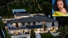 Rihanna põe sua mansão em Beverly Hills para alugar por R$ 420 mil por mês. Veja as fotos!