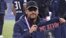 Neymar faz homenagem a MC Kevin após PSG conquistar título da Copa da França