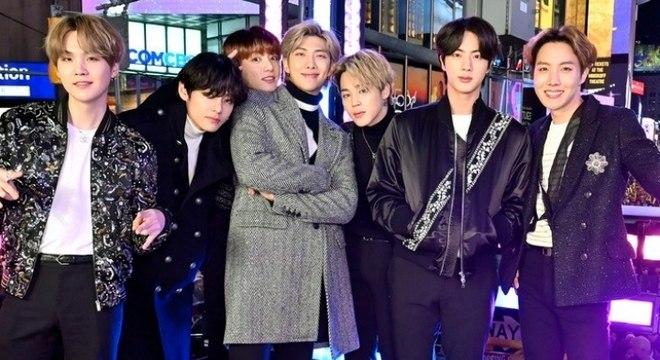 Integrantes do BTS revelam de forma unânime com quem adorariam colaborar em uma música