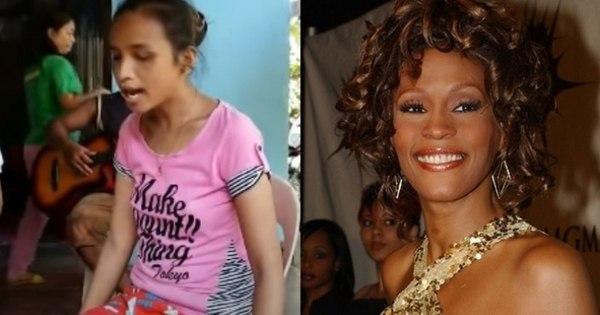 Garota cega emociona fãs na internet com cover de Whitney Houston. Veja!