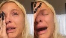 """Luísa Sonza chora após novos ataques na web: """"Pelo amor de Deus, parem com isso"""""""