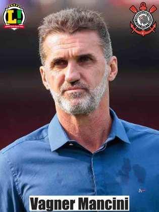 Vagner Mancini: 5,0 - As mudanças que o treinador fez pouco surtiram efeito, e o Corinthians foi eliminado.