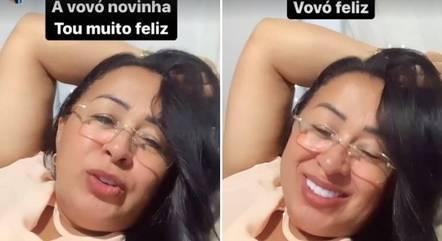 Valdenice Nunes ficou feliz com a notícia