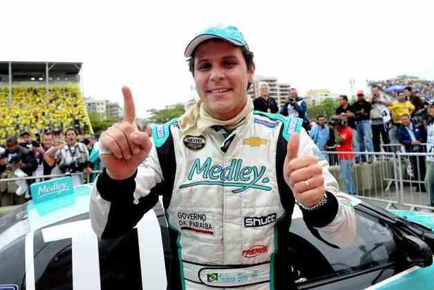 Valdeno Britto conquistou a primeira Corrida do Milhão, em 2008, no antigo Autódromo de Jacarepaguá, no Rio de Janeiro