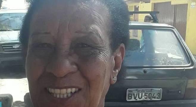 Valdete Pereira Cavalcante, de 78 anos,  tentava dispersa frequentadores de baile funk