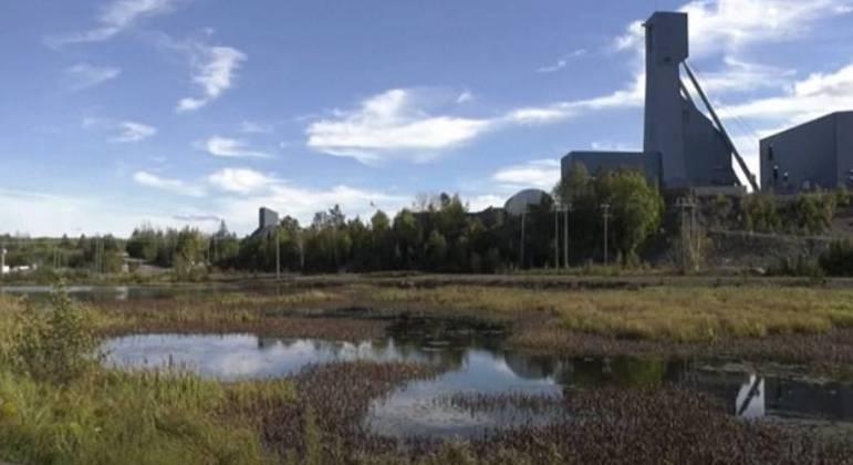 Mina de Totten, a cerca de 400 km ao norte de Toronto, no Canadá