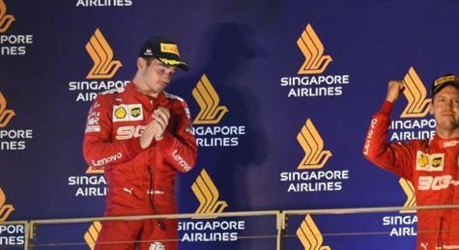 Vale lembrar que o próprio piloto alemão já manifestou que ele e Leclerc disputam em igualdade na equipe