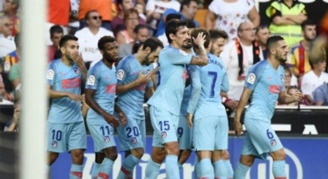 Valencia x Atlético de Madrid