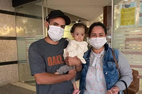 Valentina teve diagnóstico com apenas 2 meses