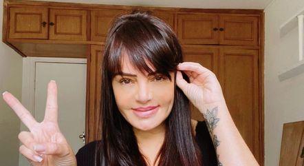 Aos 41 anos, Valentina aceitou encarar o confinamento
