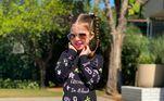 Valentina é a primeira filha de Mirella e Ceará, que se casaram em 2012