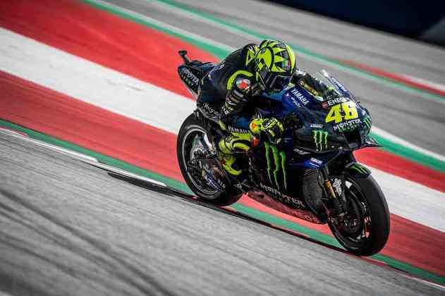 Valentino Rossi escapou de ser acertado pelas motos de Zarco e Morbidelli