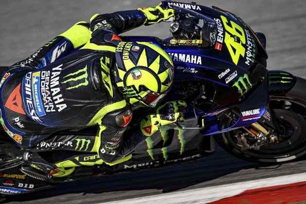 Valentino Rossi fechou a lista dos dez mais velozes do dia