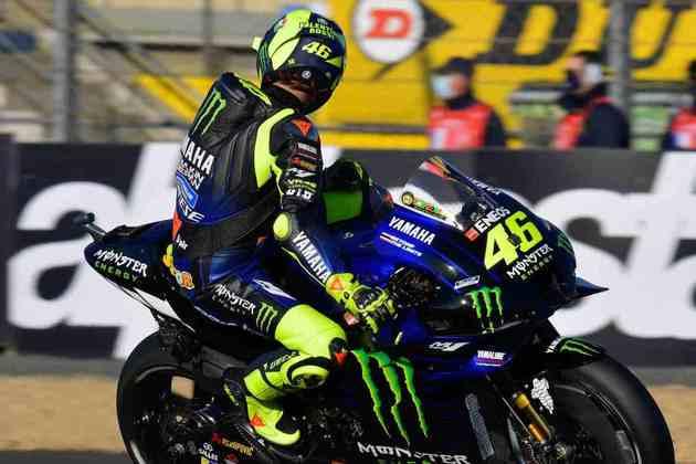 Valentino Rossi foi a vítima mais recente. Piloto da Yamaha vai perder o GP de Aragão