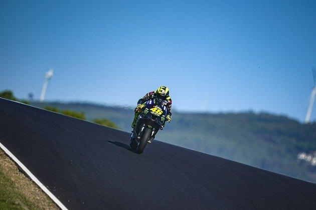 Valentino Rossi não conseguiu imprimir ritmo veloz e fechou o dia a 1s862 do ponteiro
