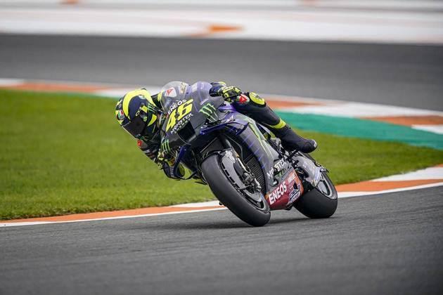 Valentino Rossi sai em 16º no circuito Ricardo Tormo