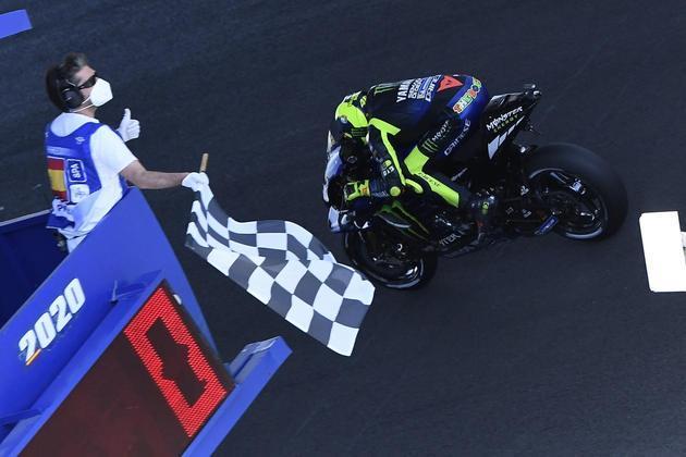 Valentino Rossi sai em quarto
