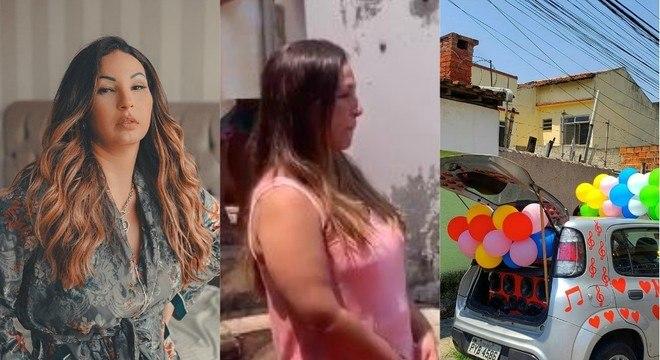 Cantora foi homenageada com carro de som, fotos e muita festa no Rio de Janeiro