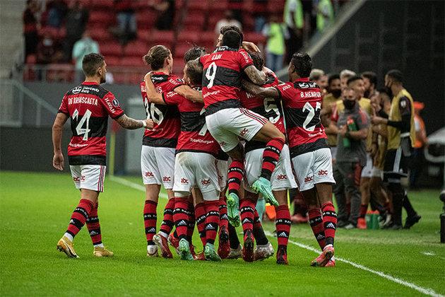 Valor total do elenco do Flamengo: cerca de 806 milhões de reais