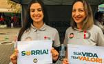 Voluntárias em Guarulhos (SP)