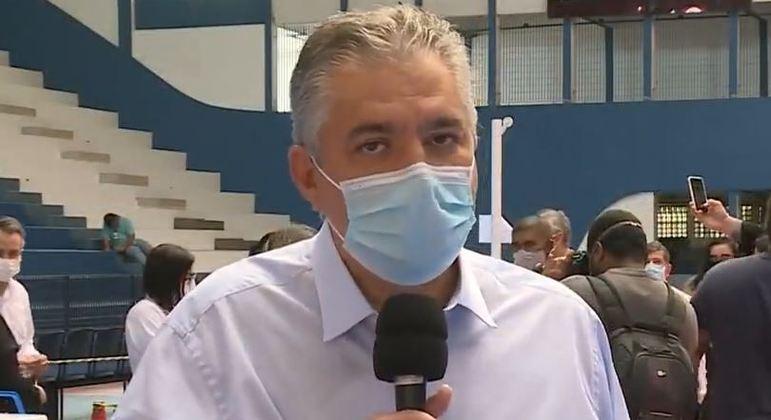 Prefeito do Guarujá, Válter Suman, vai permanecer preso preventivamente