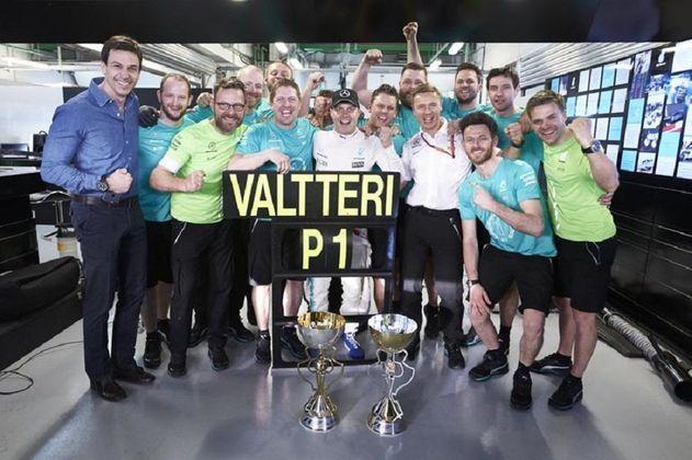 Valtteri Bottas disputou 81 corridas até vencer o GP da Rússia de 2017