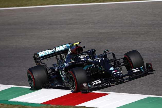 Valtteri Bottas ficou apenas 0s059 atrás de Lewis Hamilton no grid