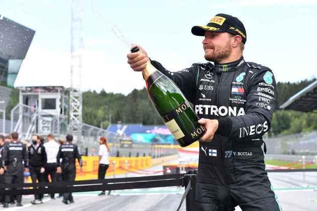 Valtteri Bottas foi o 2º colocado e manteve a liderança do campeonato