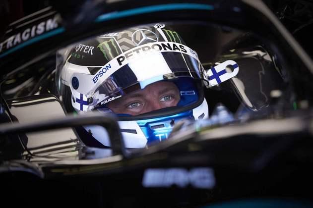 Valtteri Bottas foi o melhor da Mercedes no TL2. Terceiro colocado