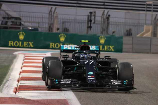 Valtteri Bottas foi o segundo colocado em Abu Dhabi.