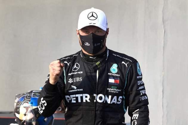 Valtteri Bottas garantiu a 15ª pole na carreira, a quarta em 2020