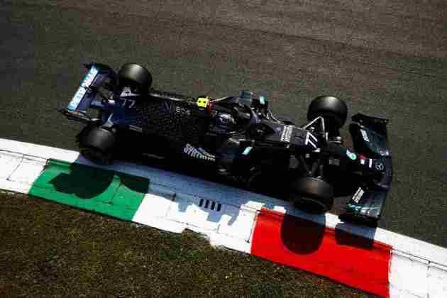Valtteri Bottas nos treinos livres de Monza