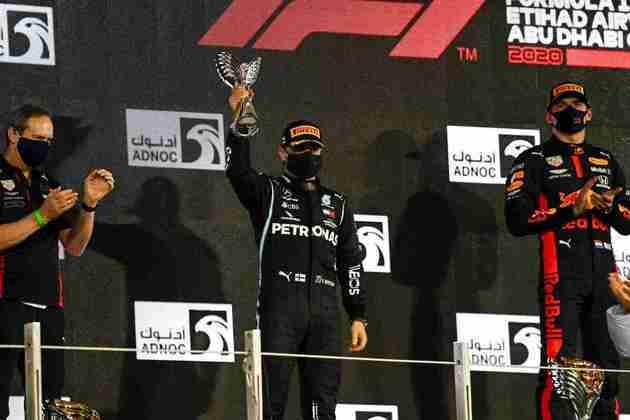 Valtteri Bottas retornou ao pódio depois de três corridas.